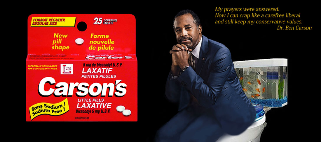 CARSON'S LITTLE PILLS especially formulate for Conservatives