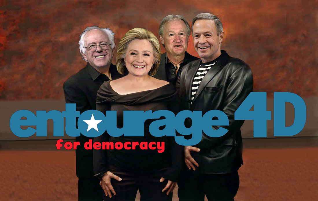 ENTOURAGE 4D -ENTOURAGE FOR DEMOCRACY