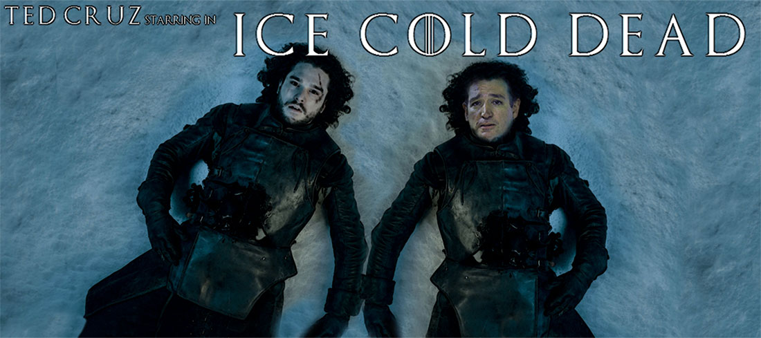 TED CRUZ starring in ICE COLD DEAD