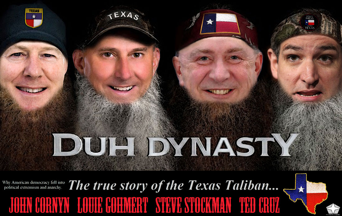 DUH DYNASTY explores the true story of the Texas Taliban