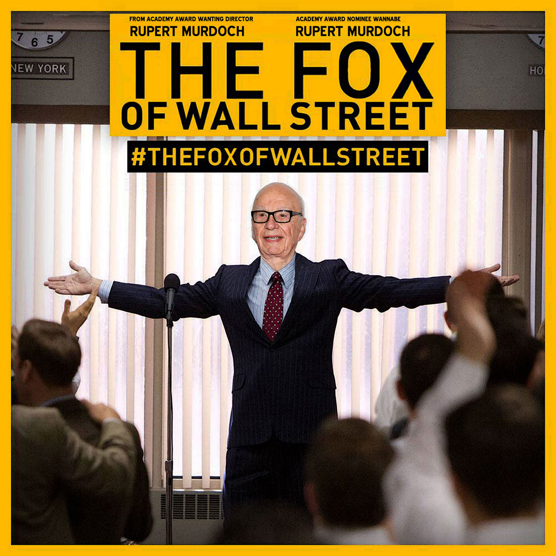 THE FOX OF WALL STREET