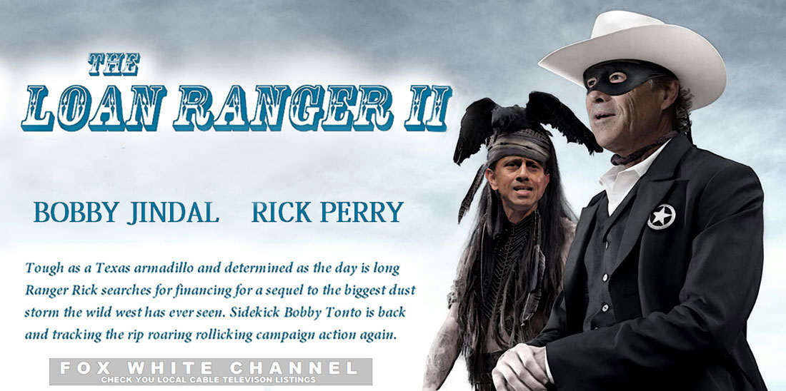 LOAN RANGER II action movie on FOX WHITE.