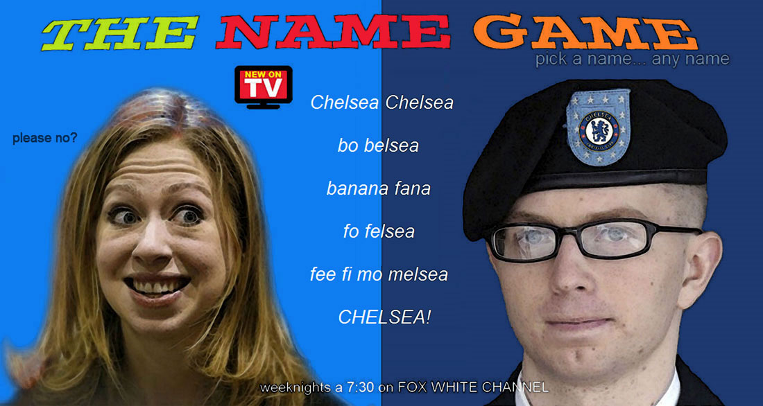 THE NAME GAME is a new TV game show where contestants are allowed to change their legal name.