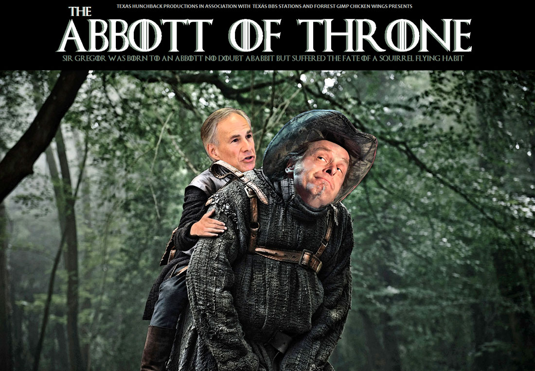 THE ABBOTT OF THRONE