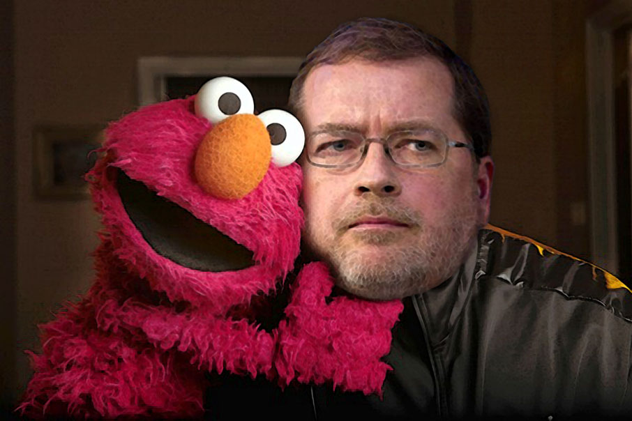Grover implicated in widening Elmo scandal.
