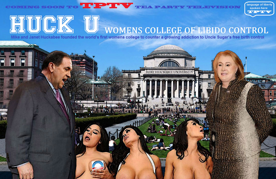 HUCK U - WOMENS COLLEGE OF LIBIDO CONTROL