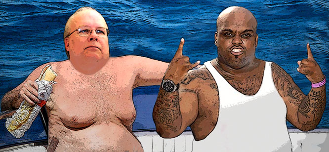 Karl Rove tries to buy black vote!