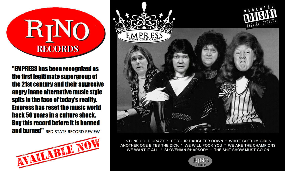 STONE COLD CRAZY - New! RINO Records release from EMPRESS