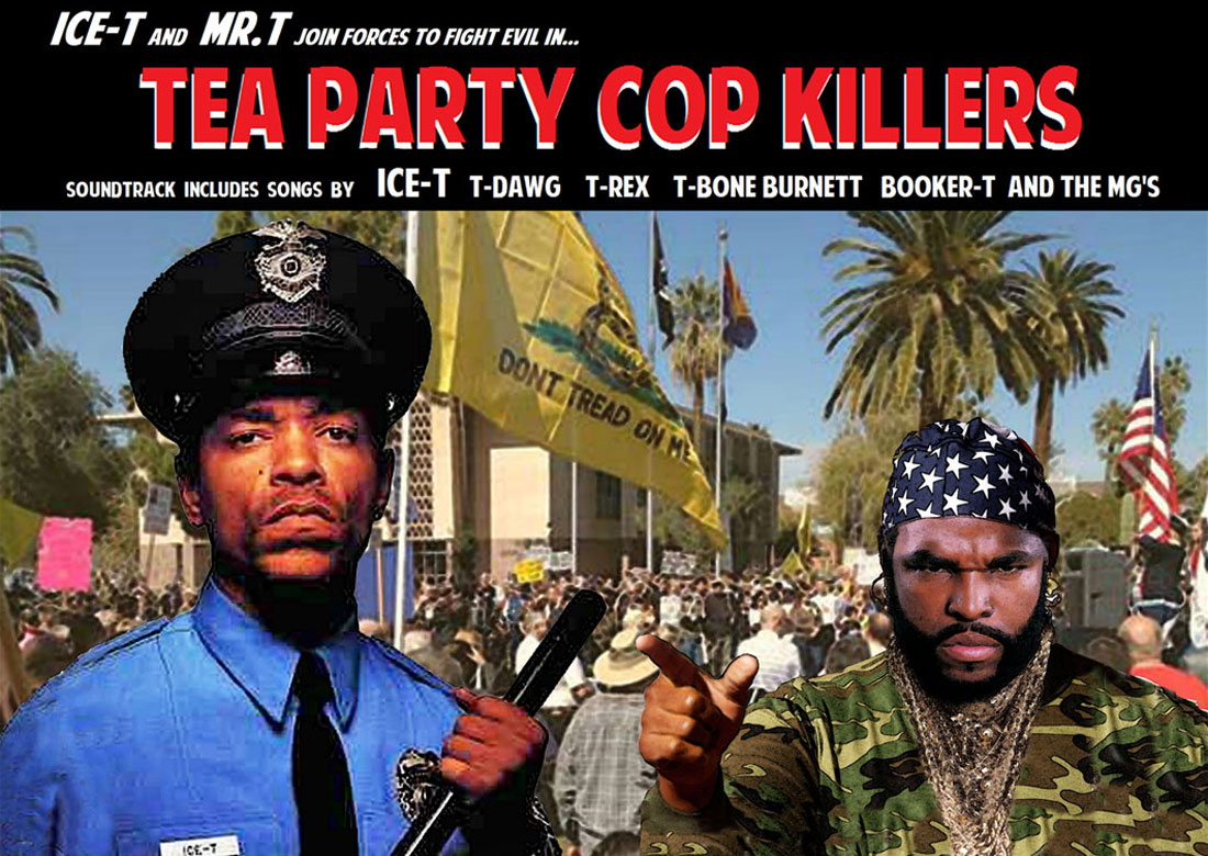 TEA PARTY COP KILLERS