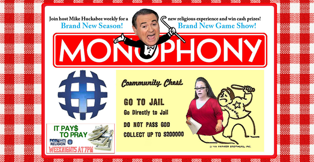 MONOPHONY STARRING MIKE HUCKABEE