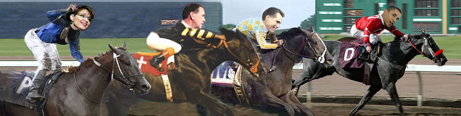 Keep up with the 2012 Presidential race at DailyRacingRag.com