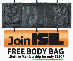 Body Bag Offer
