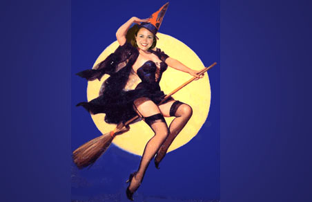 O'Donnell may be the cutest witch in politics.