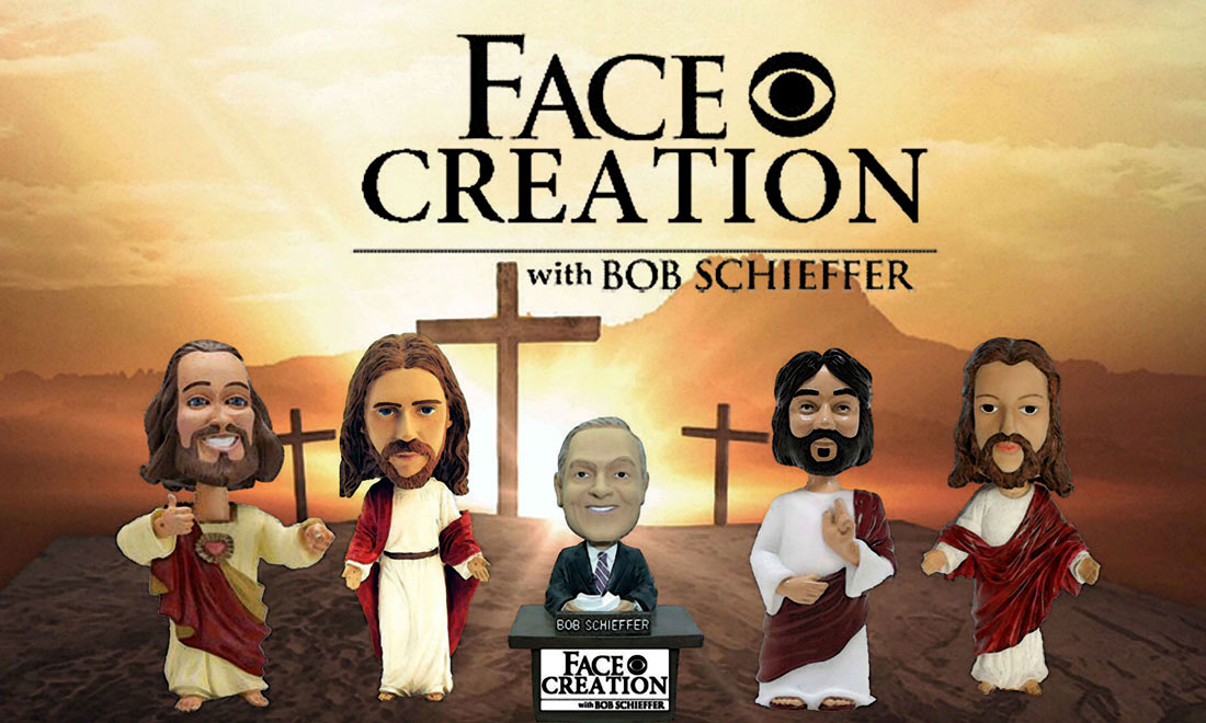 FACE CREATION WITH BOB SCHIEFFER