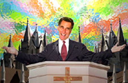 Romney was a Christ-like savior of Utah's Winter Olympics.