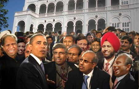 President Obama has a 75% approval rating in India.