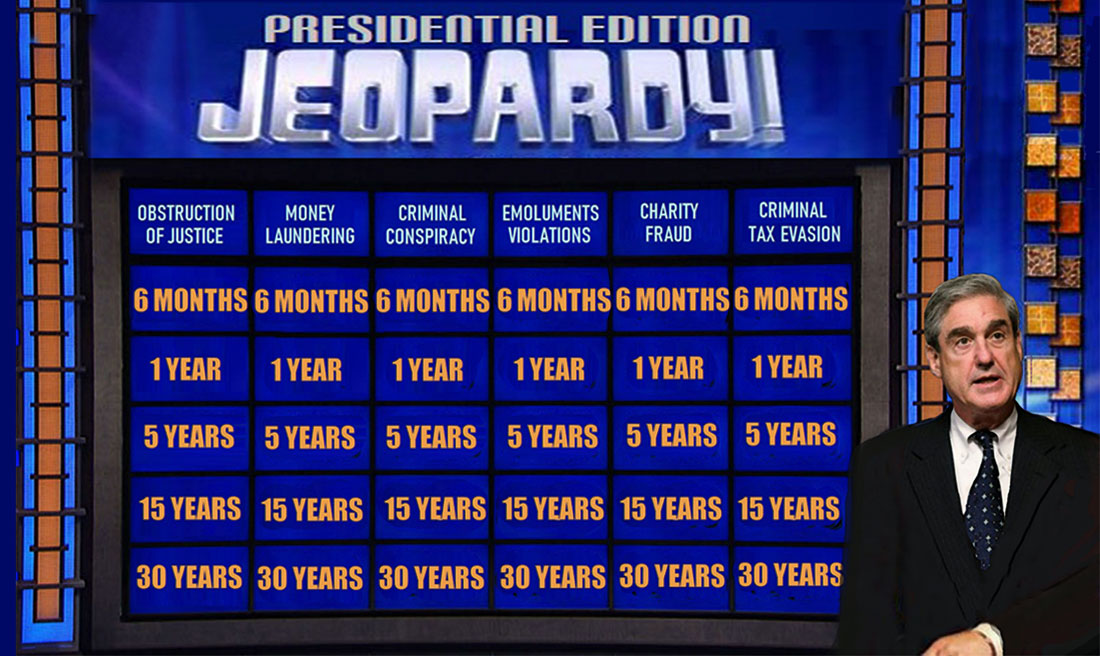 PRESIDENTIAL JEOPARDY