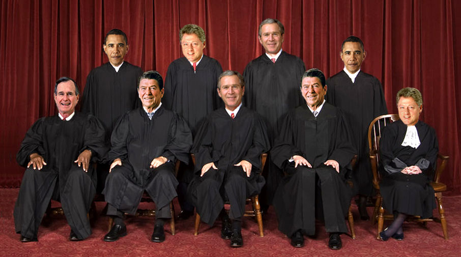 Supreme Court considers biggest power grab in U.S. history.