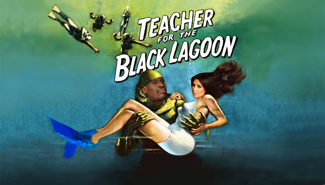 TEACHER FOR THE BLACK LAGOON