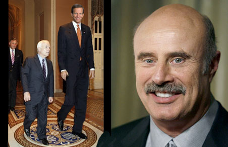 Dr. Phil explains why McCain chose Palin instead of Thune.