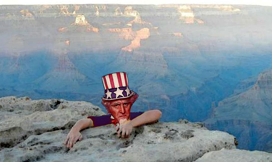 Will Uncle Sam hang on or go over the fiscal cliff?