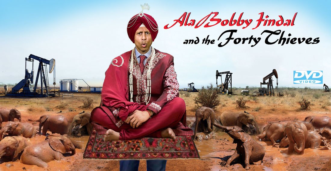 ALA BOBBY JINDAL AND THE FORTY THIEVES