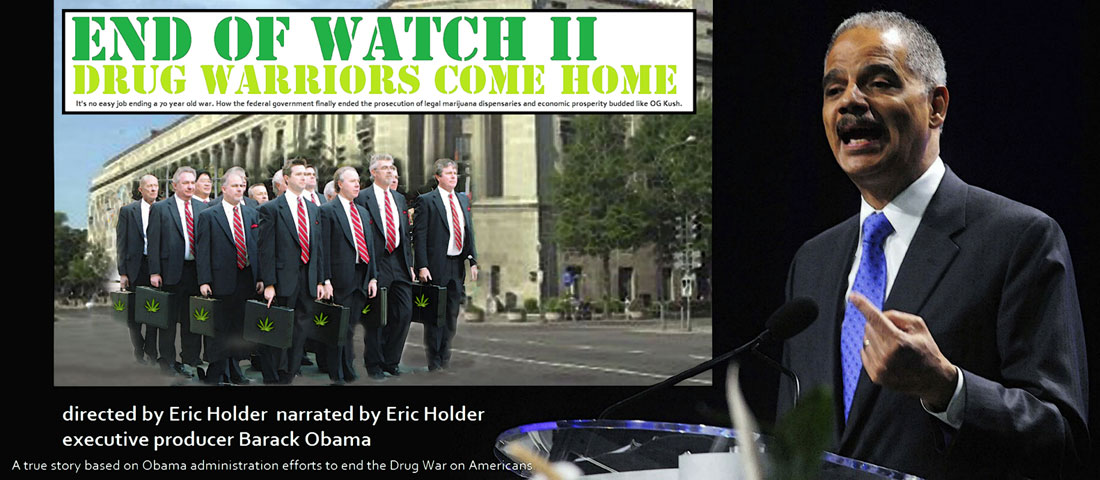 The O channel will debut a two hour documentary END OF WATCH II about ending the Drug War on American people.