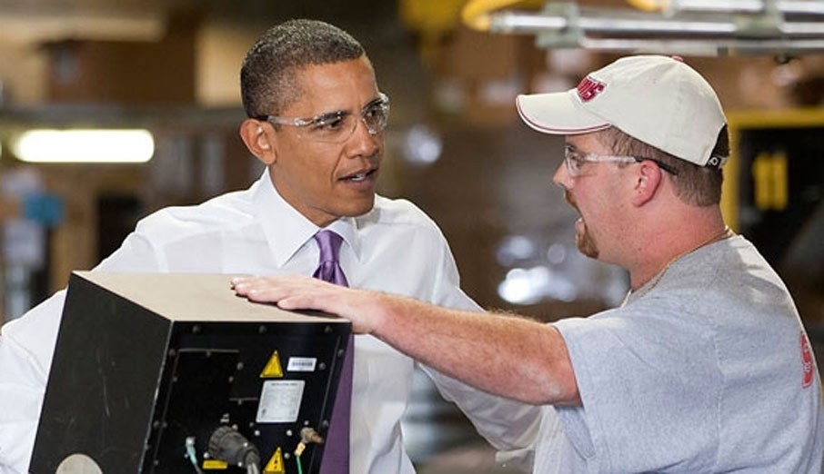President Obama was reelected to continue putting Americans back to work.