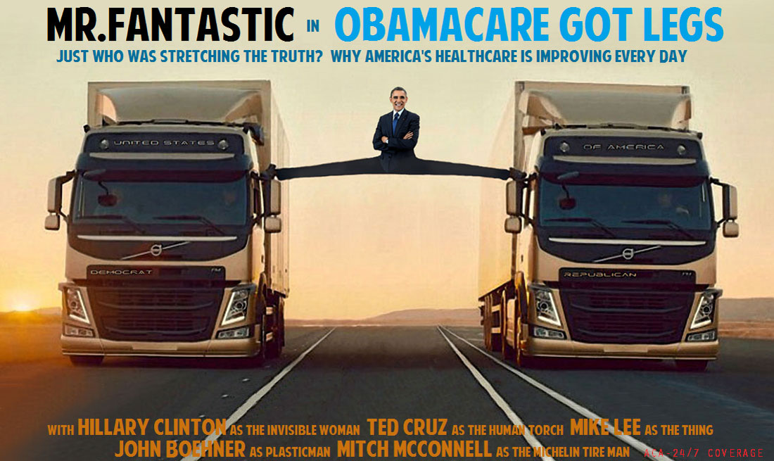 MR.FANTASTIC IN OBAMACARE GOT LEGS