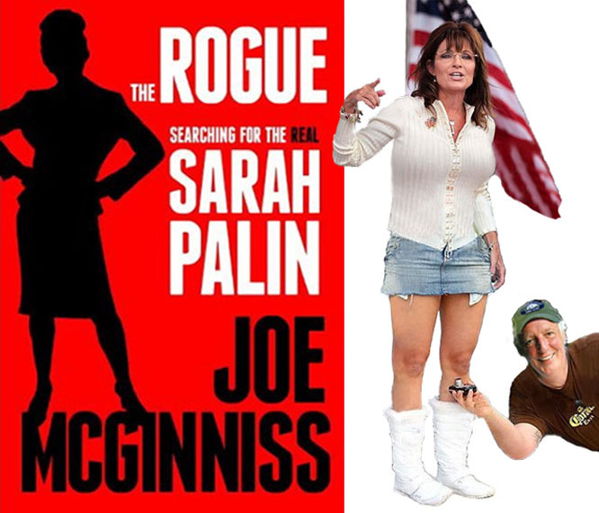 Sarah Palin threatens to sue author over book.