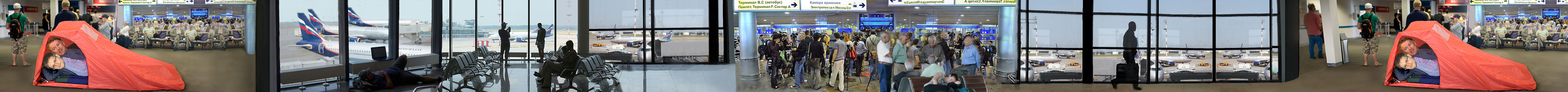 Snowden Still Stranded In Moscow Airport After Six Weeks.