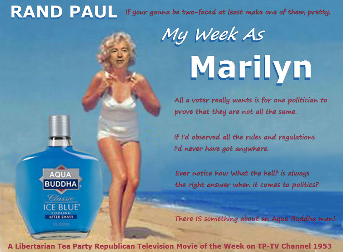 RAND PAUL in MY WEEK AS MARILYN