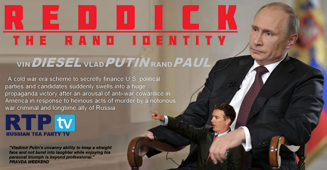REDDICK - THE RAND IDENTITY is currently airing in Russia on RPT-TV.
