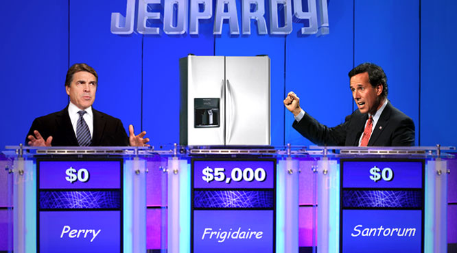 GOP candidates lose debate to 1998 Frigidaire.
