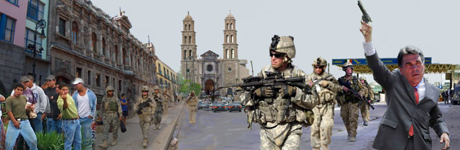 Perry open to U.S. troops in Mexico.