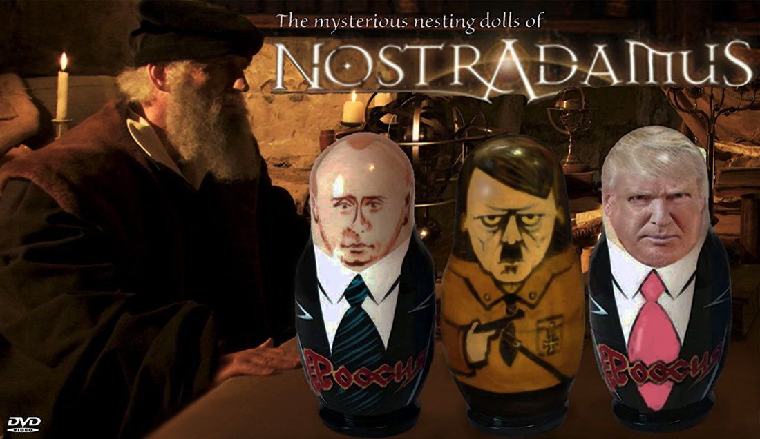 THE MYSTERIOUS NESTING DOLLS OF NOSTRADAMUS