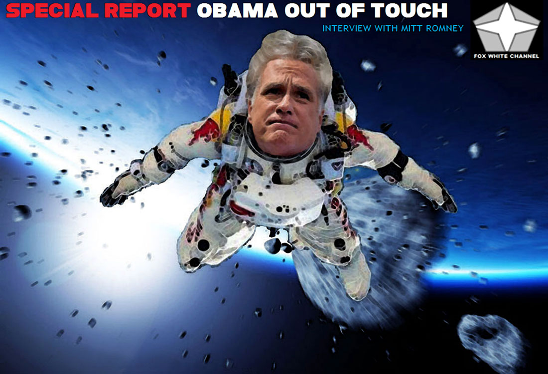 SPECIAL REPORT: OBAMA OUT OF TOUCH - INTERVIEW WITH MITT ROMNEY