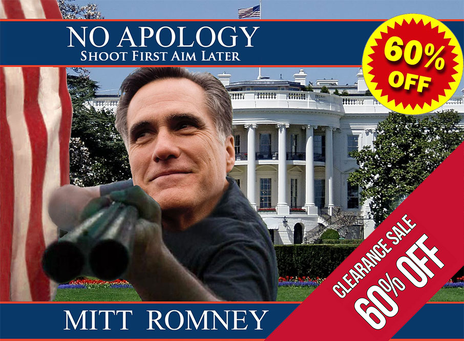 Romney book sold for deep discount.