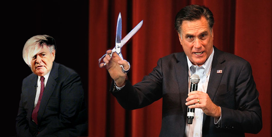 Mitt Romney can't recall assault and battery.