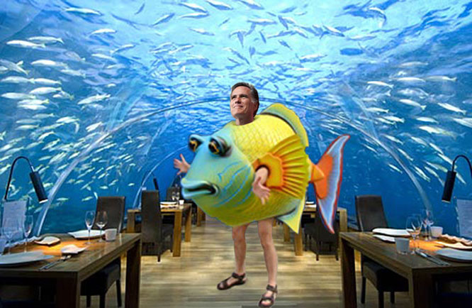 Romney to underwater homeowners: eat more fish.