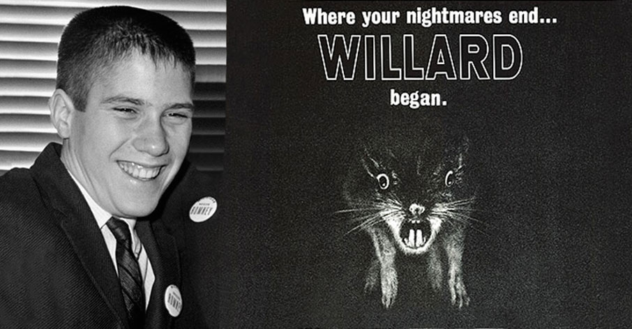 Young Mitt Romney stopped using his given name of Willard.