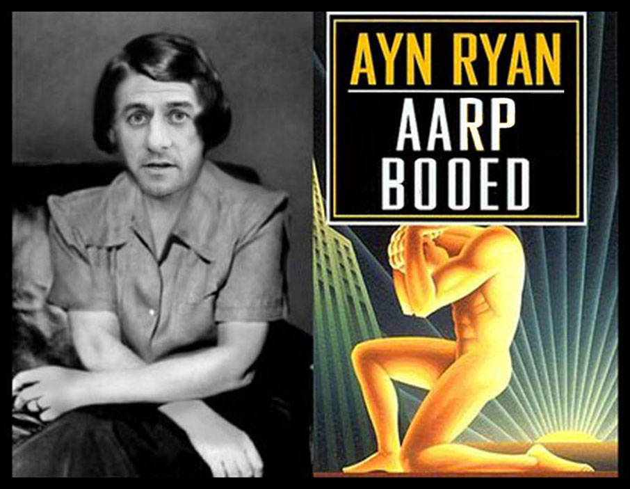 Ayn Ryan booed by AARP!