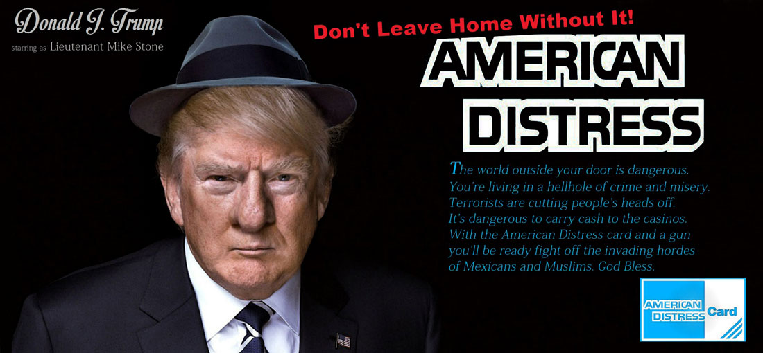 AMERICAN DISTRESS CARD - DON'T LEAVE HOME WITHOUT IT!