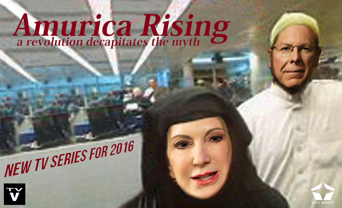 AMURICA RISING - A REVOLUTION DECAPITATES THE MYTH