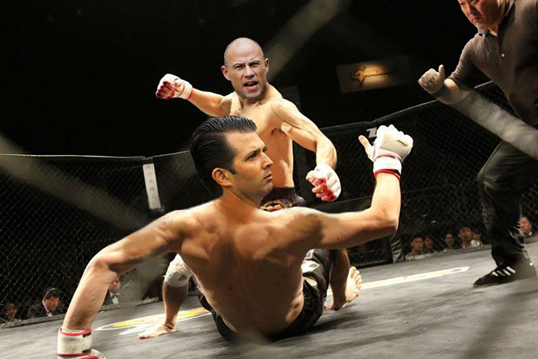 MMA - AVENATTI VS TRUMP JR.