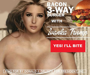 BACON 3-WAY WITH IVANKA