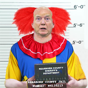 CLOWN BUSTED