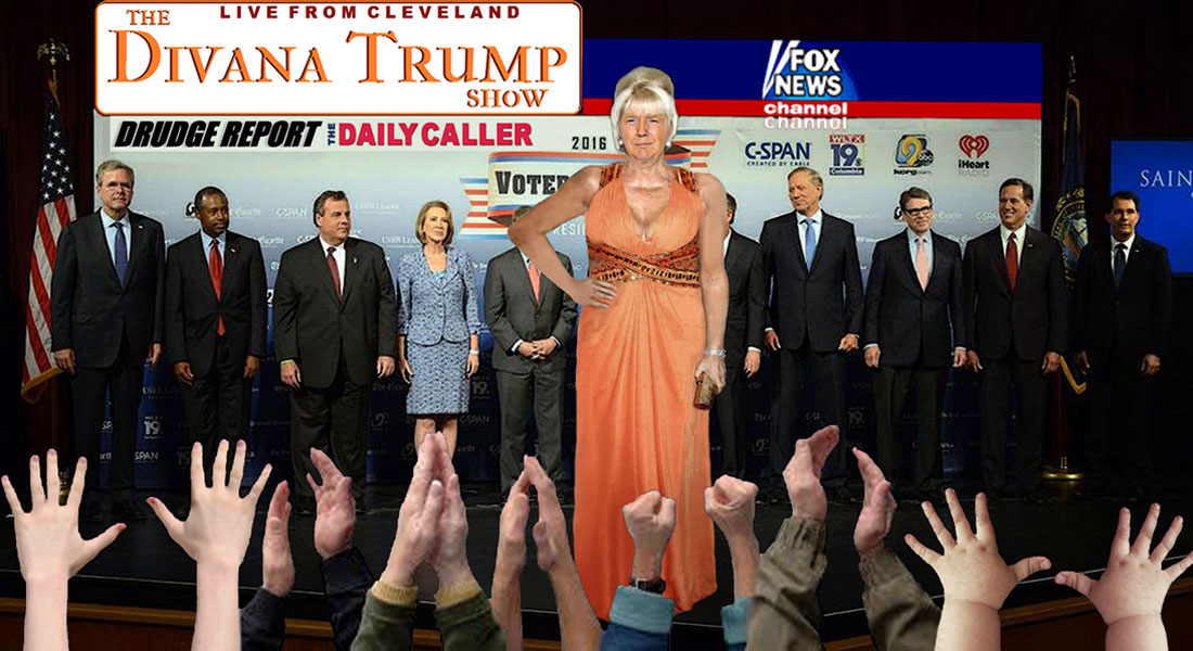 THE DIVANA TRUMP SHOW - LIVE FROM CLEVELAND