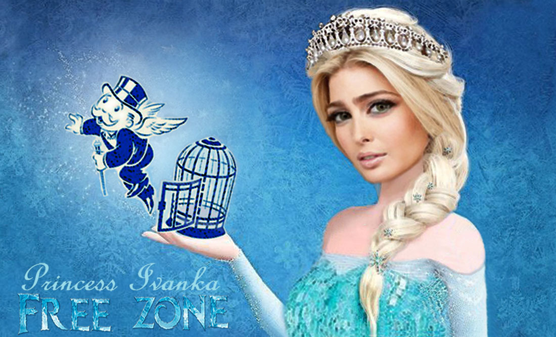 PRINCESS IVANKA in FREE ZONE