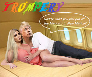 TRUMPERY THE CARTOON BUFFOON